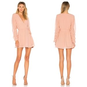 NEW Tularosa Tawney Dress Rose Pink x Revolve